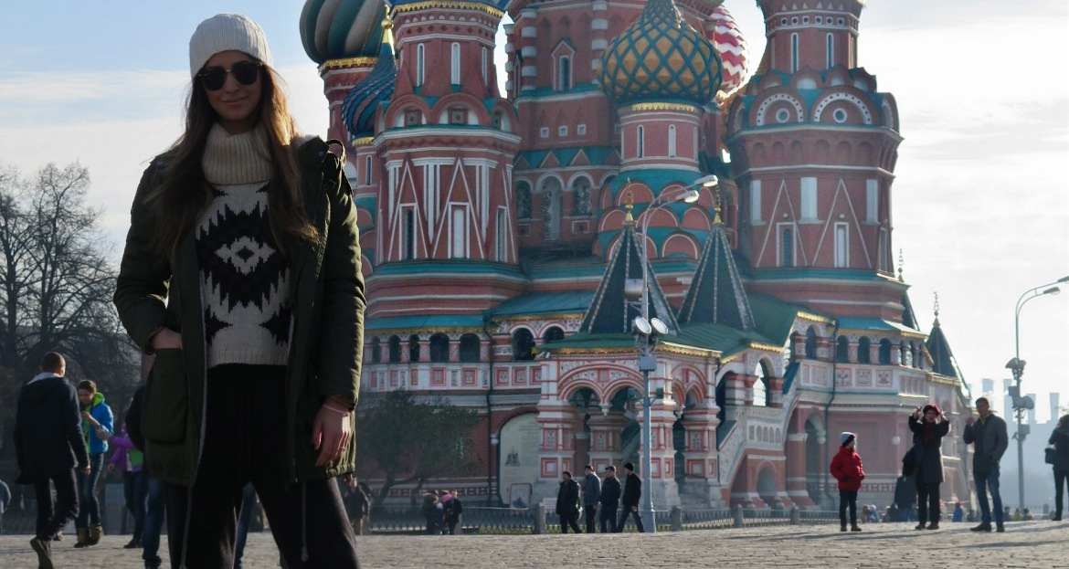 A DAY IN MOSCOW
